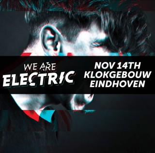 Tien acts voor We Are Electric @ Klokgebouw
