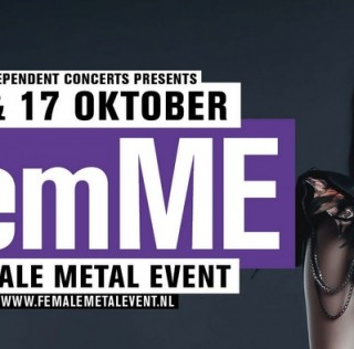 Female Metal Event (FemME) @ Effenaar preview