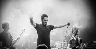 zanger Thimo op Dynam Band Battle (Foto: Justina Lukosiute