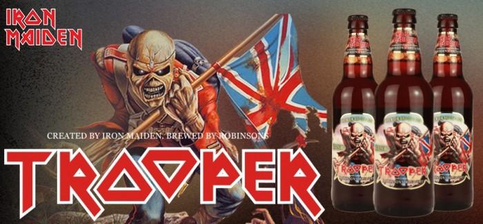 Win een fles Trooper (Iron Maiden bier) bij De Bierbrigadier