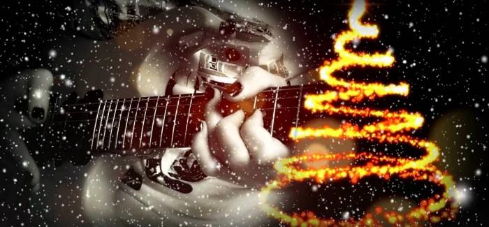 kerstgitaar