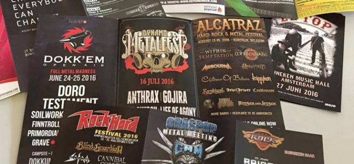 Gojira NIET op Dynamo Metalfest