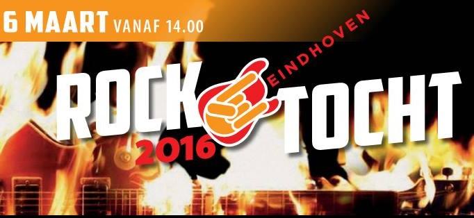 Derde editie van Rocktocht Eindhoven op 6 maart