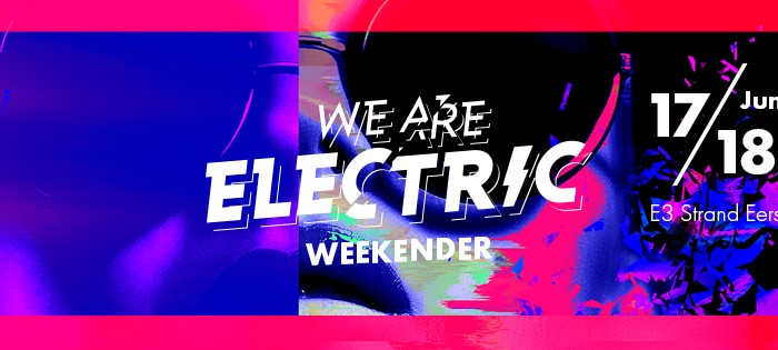 We Are Electric maakt line-up compleet