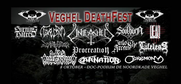 Metal in Veghel met Veghel Deathfest