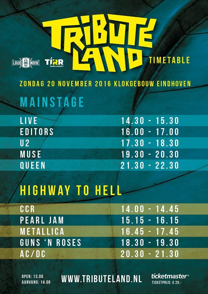 Timetable Time 4x Klokgebouw Op Een Rijtje