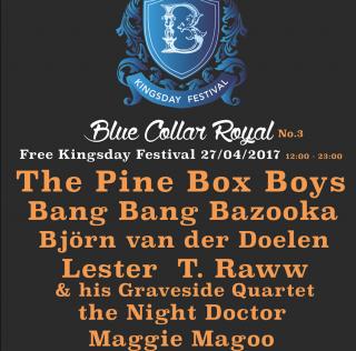 Blue Collar Royal Koningsdag festival van Blue Collar Hotel