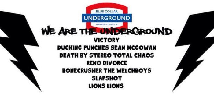 Win een avondje Blue Collar Underground!