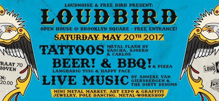 Loud Bird programma en tijden bekend