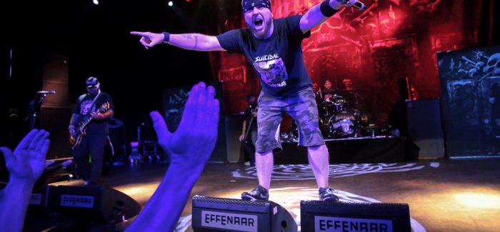 Festivalband Hatebreed staat ook indoors als een hardcorehuis