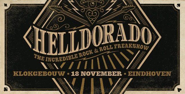 Helldorado komt met vier nieuwe namen
