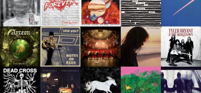 De album jaarlijsten 2017 uit Eindhoven Rockcity