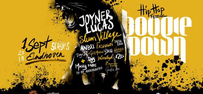 Boogiedown Festival terug op Strijp-S