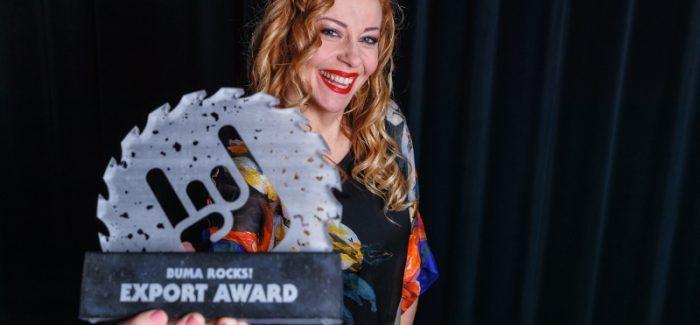 Anneke van Giersbergen onderscheiden met Buma ROCKS! Export Award 2019