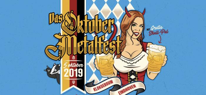 Das Oktober Metalfest maakt debuut in Klokgebouw