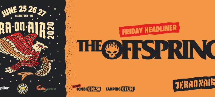 The Offspring eerste headliner voor Jera On Air 2020