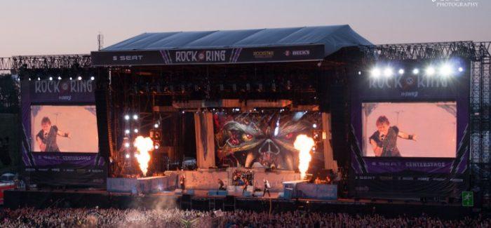 Iron Maiden voor headline show naar Weert dag voor Bospop