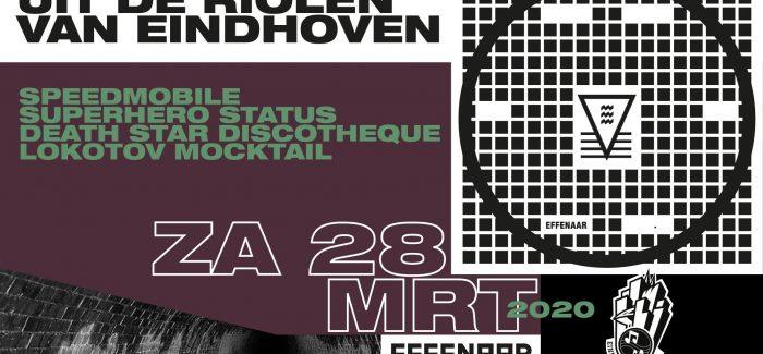 Uit de Riolen van Eindhoven winactie: Speedmobile vinyl EP en tickets