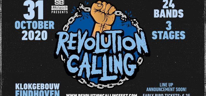 Nieuw punk hardcore festival in Klokgebouw: Revolution Calling