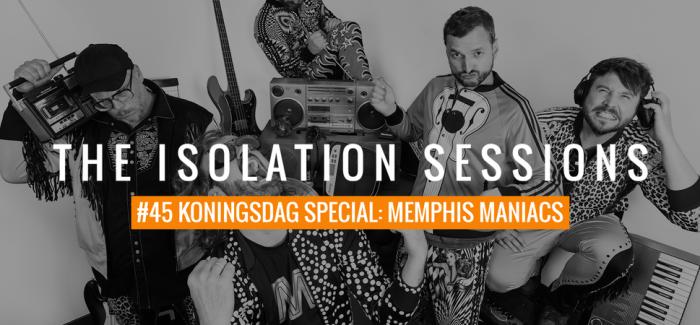 The Isolation Sessions met bijzondere nieuwtjes