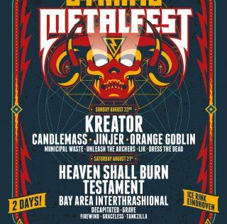 Kreator nieuwe headliner Dynamo Metal Fest 2021